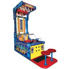 The Authentic Water Blast Arcade Game -