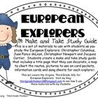 This is a set of materials to use with students as you study the European Explorers: Christopher Columbus, Juan Ponce deLeon, Christopher Newport a...
