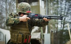 Smoking Gun   (U.S. Marine Corps photo by Staff Sgt. Ezekiel R. Kitandwe/Released)
