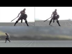 Warrior | Run and Bash | Keyframe animation - YouTube