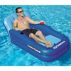 Cooler Couch™ Pool Float ....MUST HAVE!!!