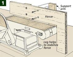 Belt Sander Fence