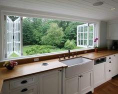 screen, the view, kitchen windows, kitchen sinks, farmhouse sinks, open kitchens, farm sinks, countertop, dream kitchens
