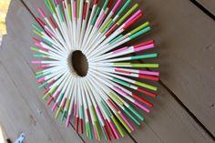 Lollipop Stick Wreat
