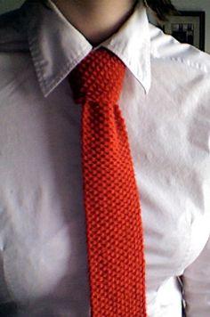 Ravelry: Knit Necktie, FREE pattern by Lion Brand Yarn