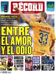 Monterrey 14 de agosto del 2014 - RÉCORD