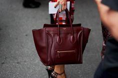 Burgundy Celine bag!