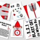 """Utilize this rocket ship to """"blast off"""" into whole body listening. You will definitely be laminating, cutting, and pasting with this one. The rocke..."""