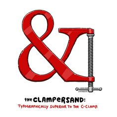 Clampersand by lunchbreath, via Flickr