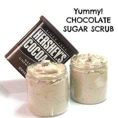 Chocolate Whipped Sweet *LOVE Scrub from P.S. I Love Soap Co scrub, soap