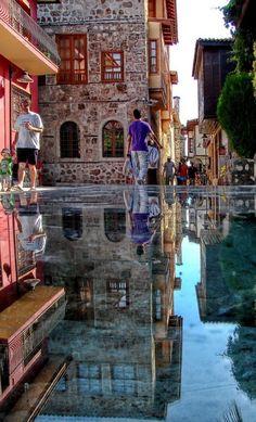 The Stone Mirror in Antalya, Turkey • photo: Bernd on Flickr