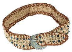 crochet cowgirl belt