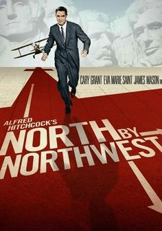 North by Northwest (1959) What if everyone around you was suddenly convinced that you were a spy? This classic from master director Alfred Hitchcock stars Cary Grant as an advertising executive who looks a little too much like someone else and is forced to go on the lam (helped along by Eva Marie Saint). Hitchcock's sure-handed comic drama pits Grant against a crop duster and lands him in a fight for his life on Mount Rushmore -- a true cliffhanger if ever there was one.