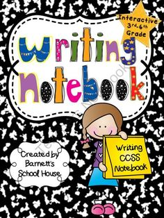 Interactive Writing Notebooks WRITING CCSS for 3rd-6th Grade - Enter for your chance to win this interactive Writing Notebook that is aligned to the 3rd, 4th, 5th and 6th grade Common Core Writing Standards. 24 INTERACTIVE LESSONS INCLUDED!.  A GIVEAWAY promotion for Interactive Writing Notebooks WRITING CCSS for 3rd-6th Grade from Barnett's School House on TeachersNotebook.com (ends on 7-26-2014)