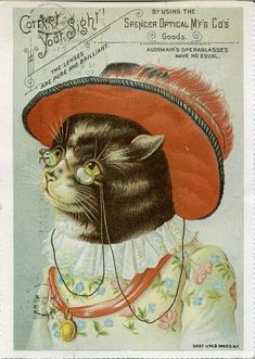 Vintage Advertising Card