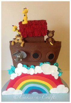 Noah's ark  Cake by Cakesncrafts
