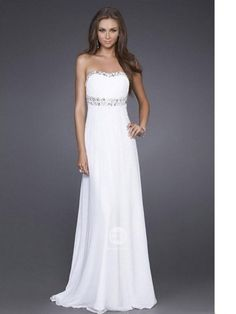 (NO.009003)2011 Style Empire Strapless Sleeveless Floor-length Chiffon  Bridesmaid / Evening Dresses / Prom Dresses