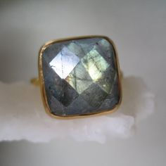 Labradorite ring....love that stone