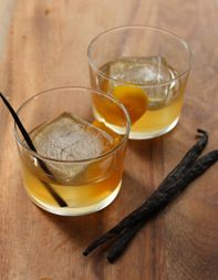 Vanilla-Bean-Old-Fashioned by tastingtable.  Gets expensive.
