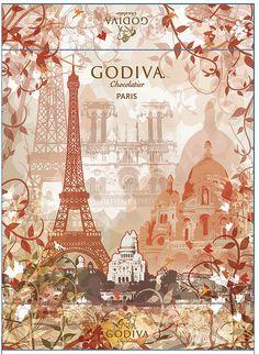 Godiva Chocolates Packaging