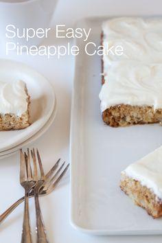 """""""Super-Easy Pineapple Cake"""" from @Gaby Dalkin"""