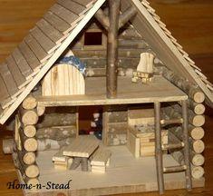 Cabin Dollhouse