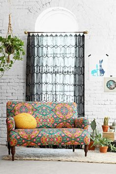 Nicola Loveseat - Urban Outfitters