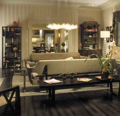 """A House to Kill For in """"Mr. & Mrs. Smith""""- The Dining Room"""