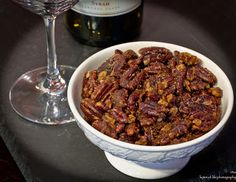 Roasted Spicy Pecans