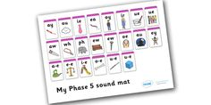 Twinkl Resources >> Phase 5 Sound Mat >> Printable resources for Primary, EYFS, KS1 and SEN.  Thousands of classroom displays and teaching aids! Literacy, English, Letters and Sounds, Sound Mats