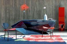 Balcão do designer Marcello Maksoud.