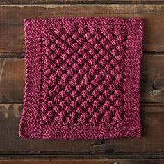 Loganberry Dishcloth - Knit Picks free download
