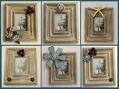 DIY embellished frames