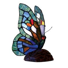 Butterfly Leadlight Table Lamp