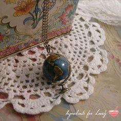 World Globe Necklace