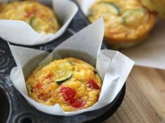 Why didn't I think to use parchment paper in my muffin tin to keep my egg/bacon/cheese muffins from sticking?! - Yep. Happened to me too.