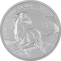 2014 Royal Mint Lunar Horse Coin
