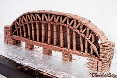 Giant Tim Tam Sydney Harbour Bridge - Chocolatesuze - Sydney Food Blog