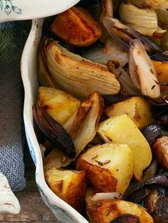 Roasted Holiday Vegetables