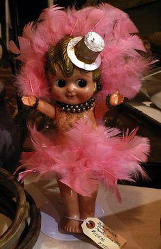 Carnival Kewpie Doll prizes