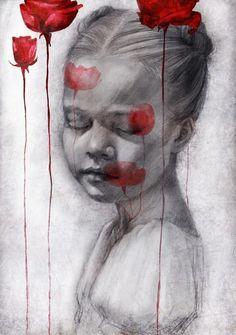 Evocative Illustrations by Beatriz Martin Vidal