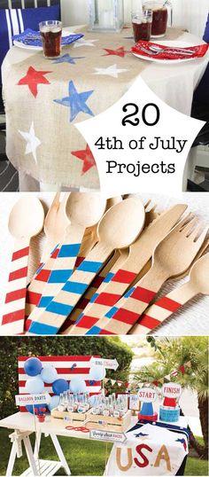 20 fun 4th of July ideas via Gina @ Shabby Creek Cottage