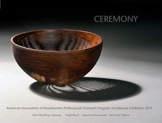 Cocobolo Angle Bowl by Hans Weissflog