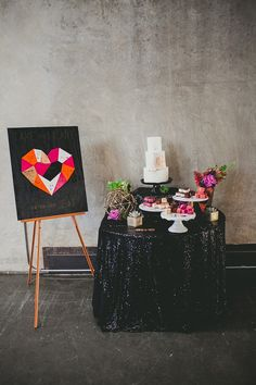 Photography: Melissa Biador - www.melissabiador.com  Read More: http://www.stylemepretty.com/california-weddings/2014/08/20/colorful-modern-geometric-shoot-in-san-diego-at-the-new-childrens-museum/