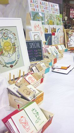 Renegade Craft Fair by Cuddlefish Press, via Flickr
