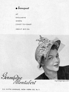Germaine Montabert 1950