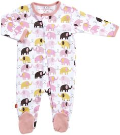 Magnificent Baby Footie - MUST have. Mitch LOVES elephants!