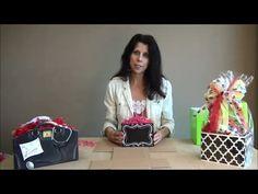 Learn how to fold gift basket boxes from Nashville Wraps! #giftbasketideas #giftbasketboxes
