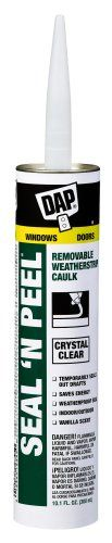 Dap 18354 Seal 'N Peel Removable Caulk,  Safely hang and remove posters on painted walls in your classroom!