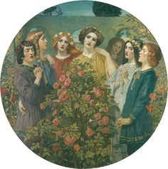 John Duncan - Hymn to the Rose (1907)